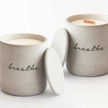 Duftkerze-Breathe