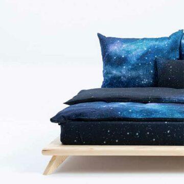 Hayka Nachthimmel Bettwäsche