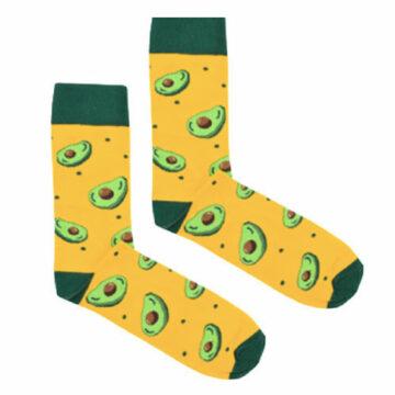 Socken Avocado
