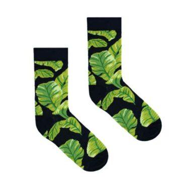 Socken Bananenblatt