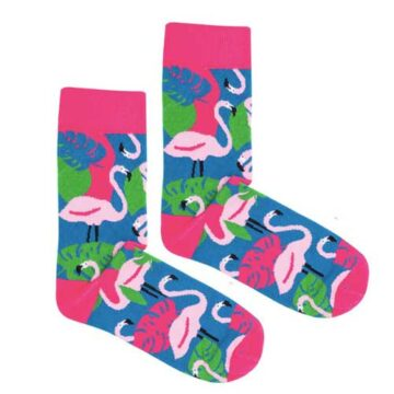 Socken-Flamingo