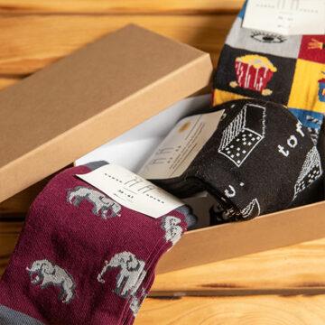 Socken Box: Wir wissen auch nicht so genau, wie das kam...